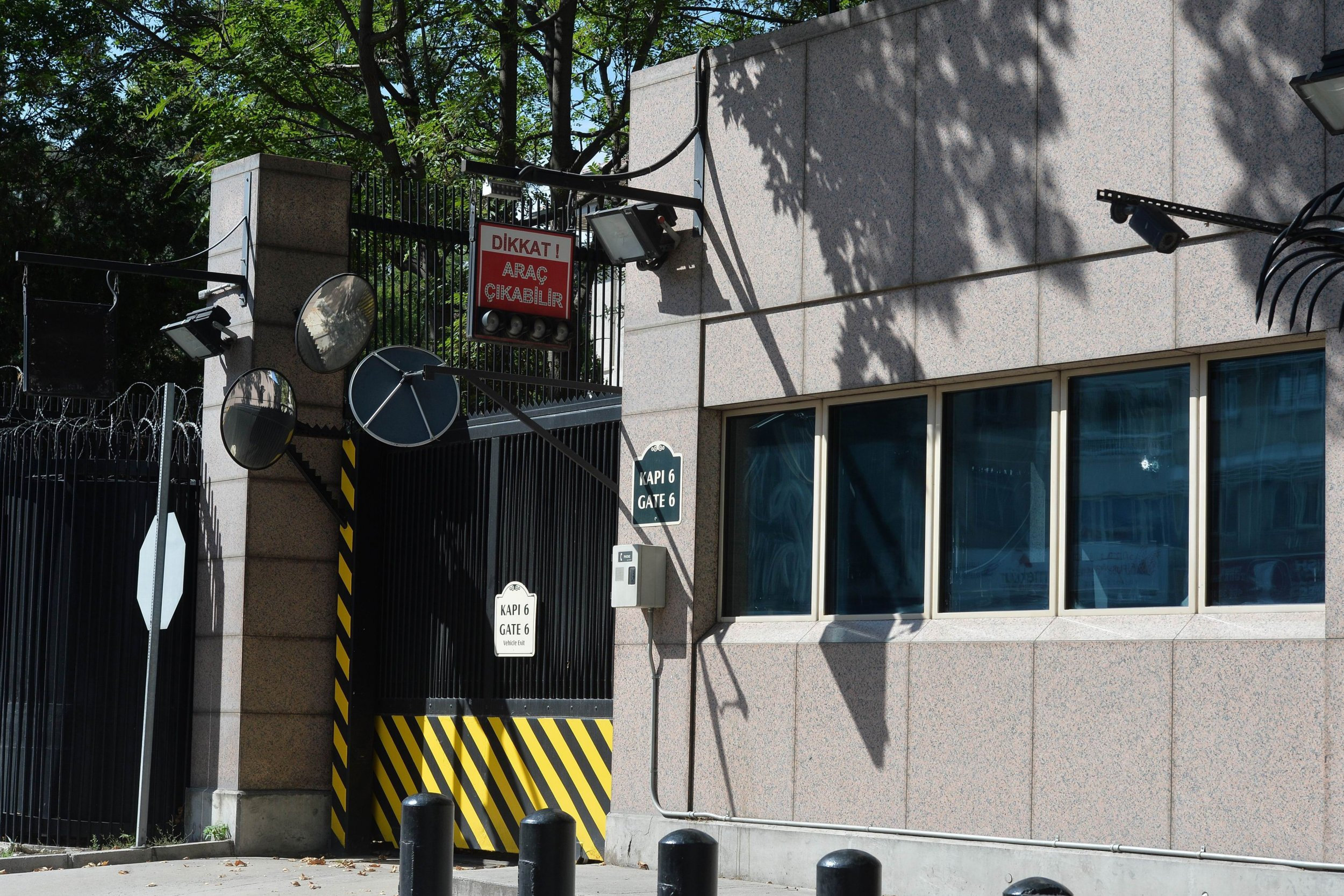 Shots Fired at U.S. Embassy in Turkey Latest: Drive-by Shooting in ...