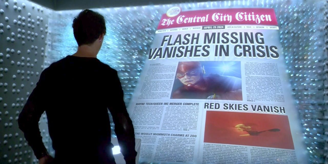 the flash newspaper 2024