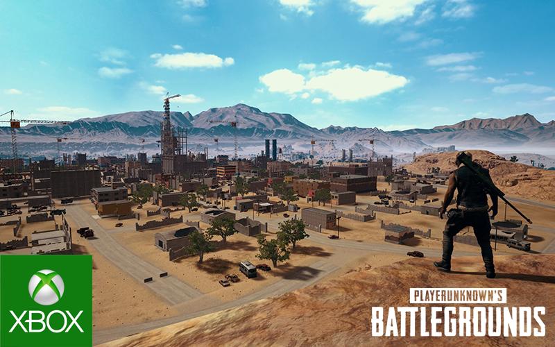 PUBG Xbox update 18 landscape