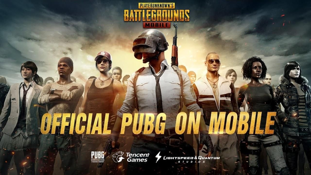 PUBG Mobile logo different versions