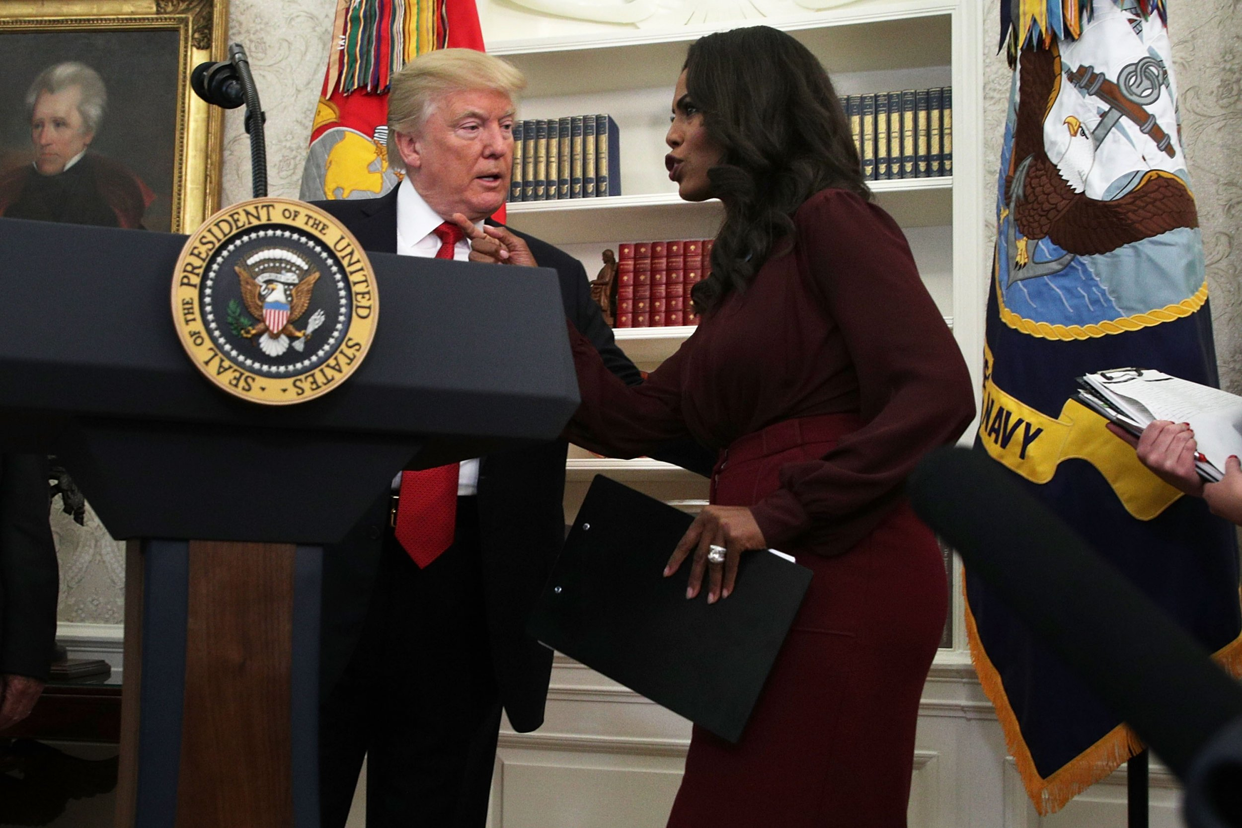 Omarosa Donald Trump mental capacity old uncle