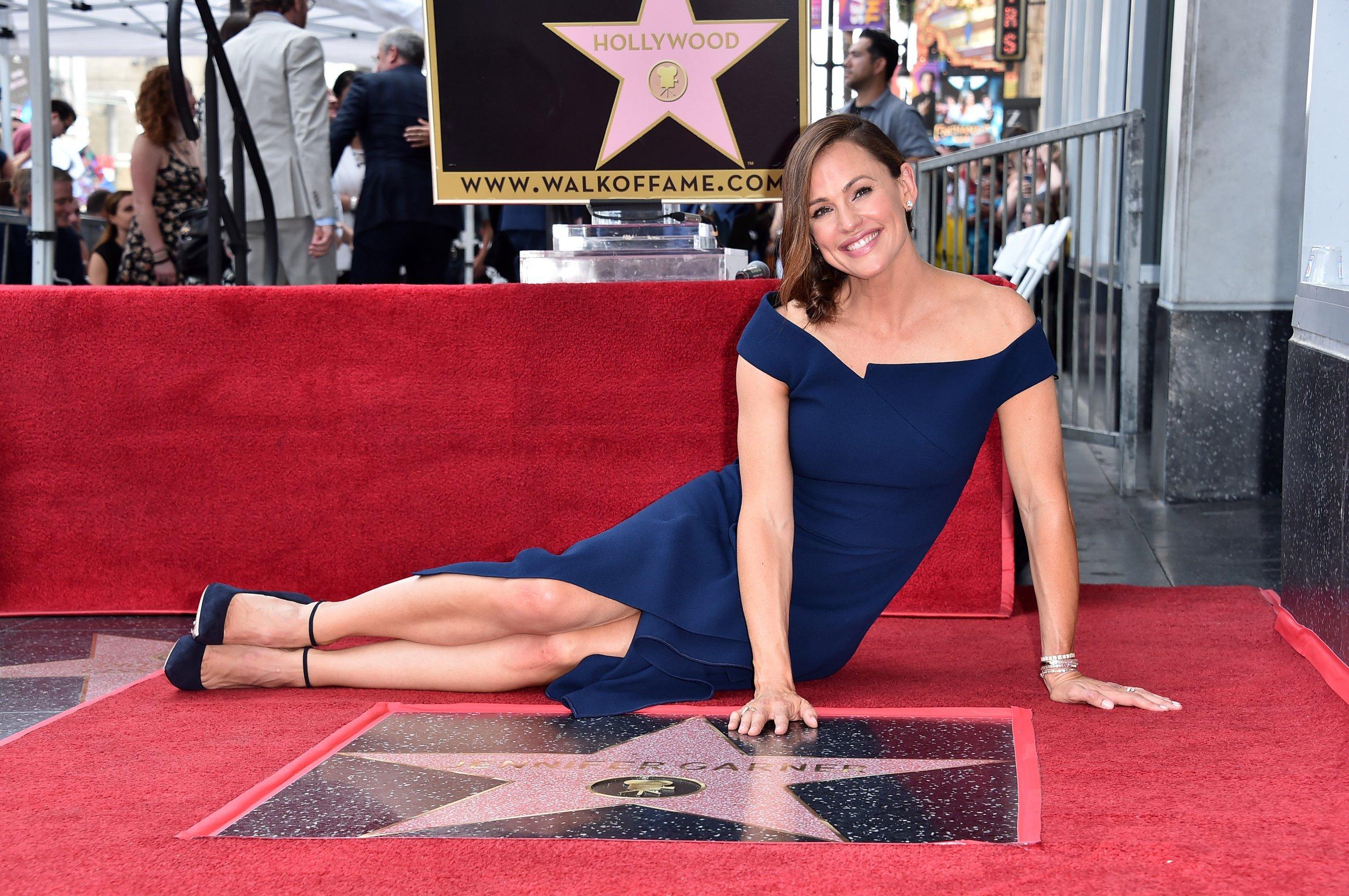 Jennifer Garner Walk of Fame Star