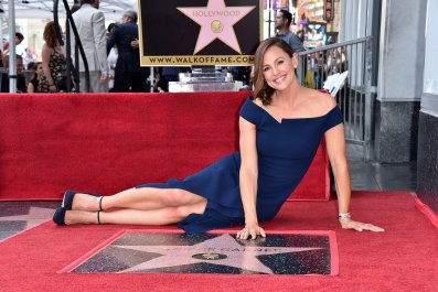 Jennifer Garner Walk of Fame Star