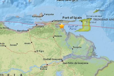 Venezuela Earthquake
