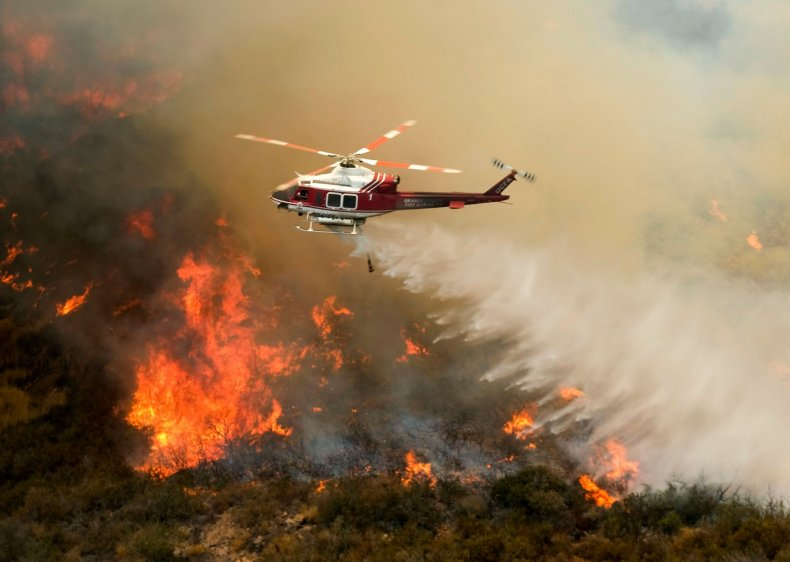 Holy Fire estimated to be contained on sunday