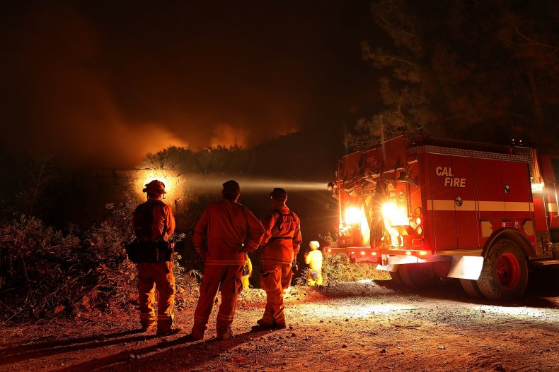 Cal Fire firefighters