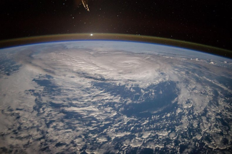 hurricane nasa photo