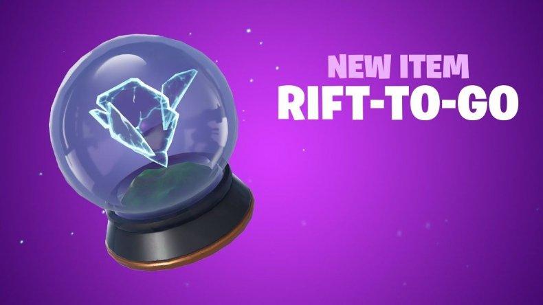 Fortnite Rift to go