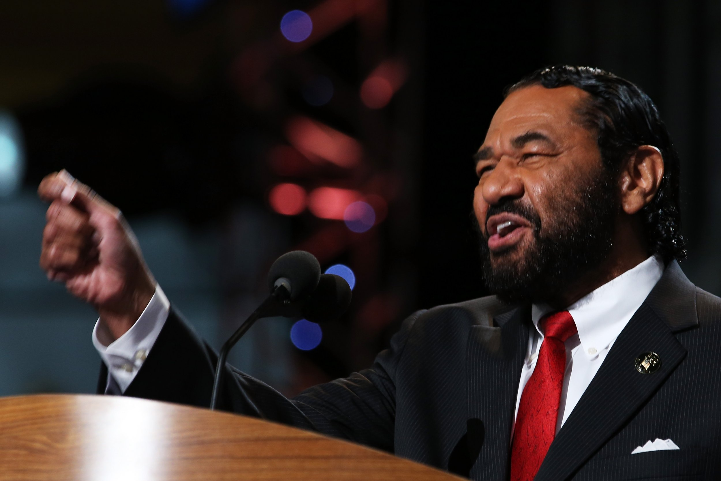 Al Green, Donald Trump resign impeach
