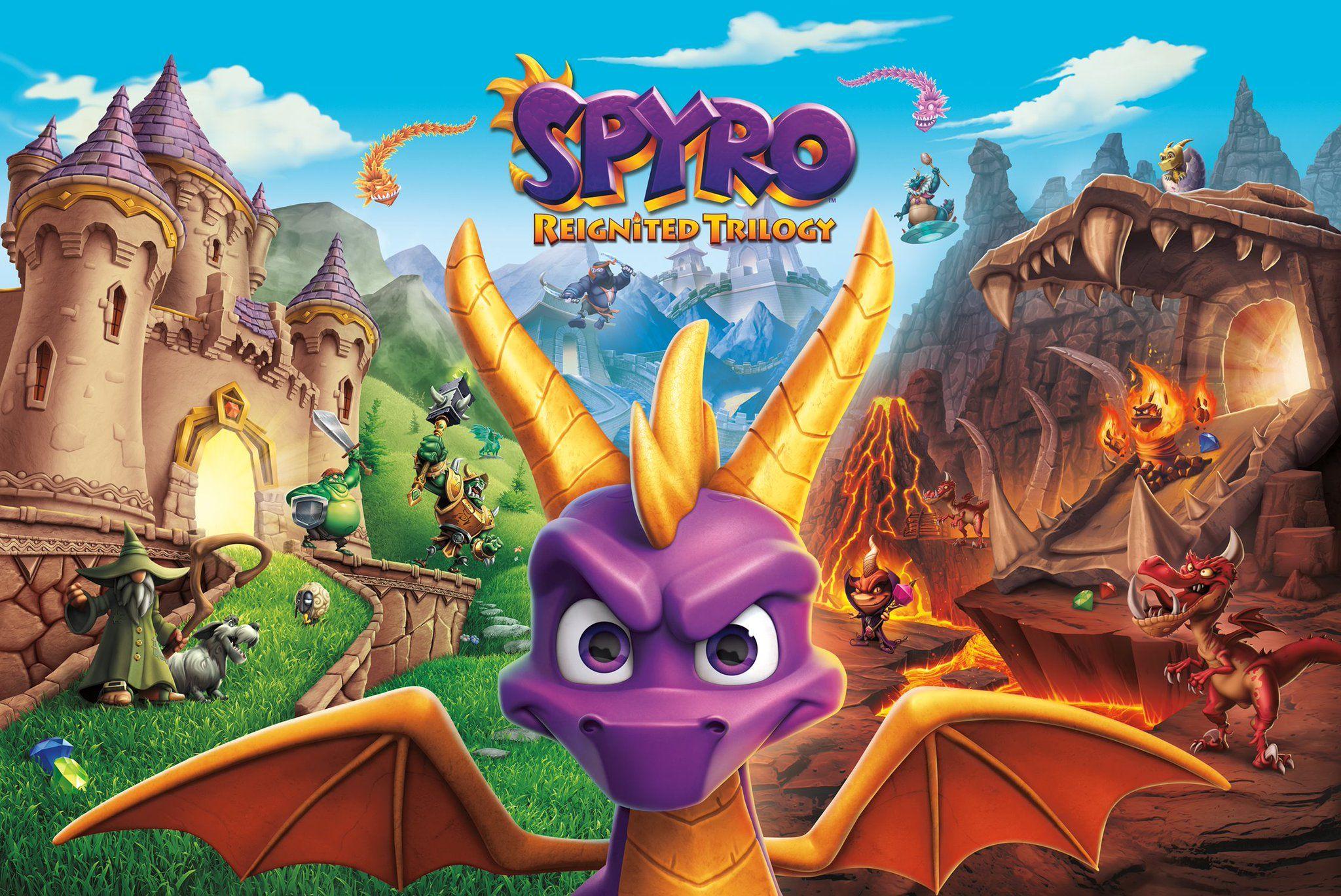 Image result for spyro reignited trilogy