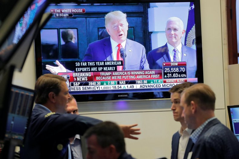 donald trump economy impeached