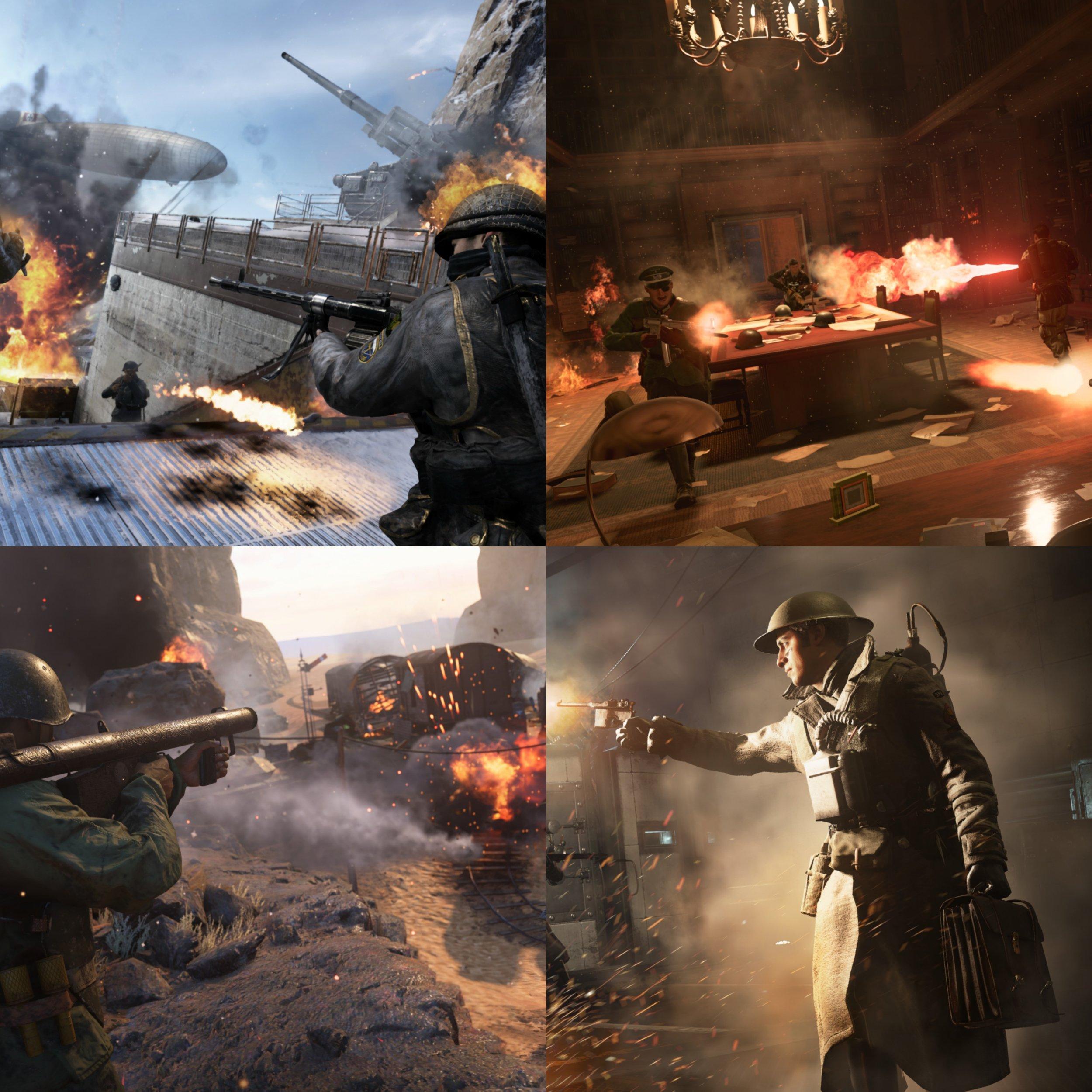Call Of Duty WWII Shadow War Maps