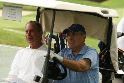 Rudy Giuliani, Michael Cohen, Donald Trump
