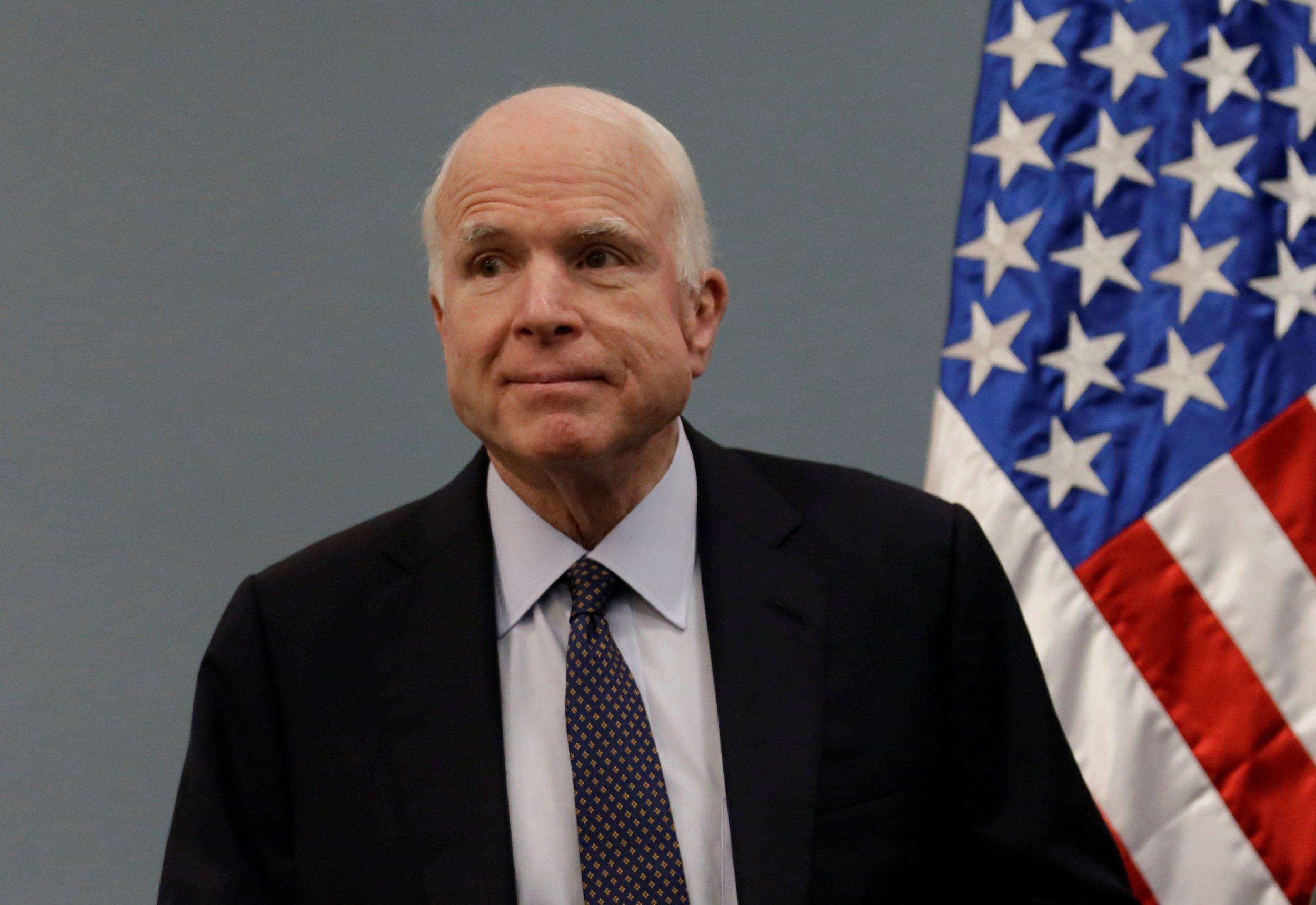 John McCain, Donald Trump, attack, treatment