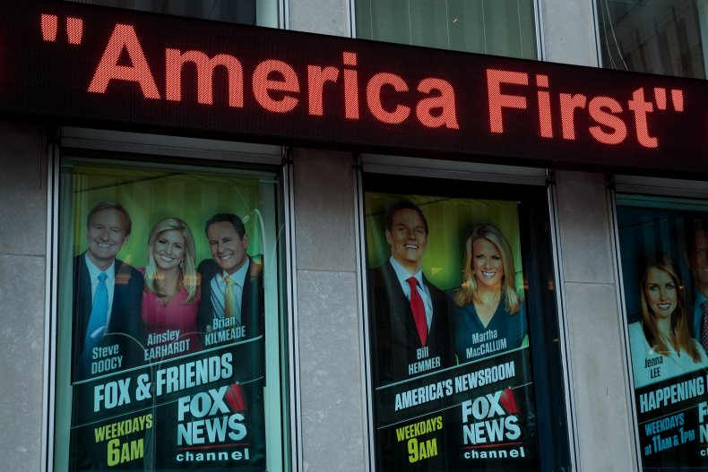 Fox and Friends advertisment