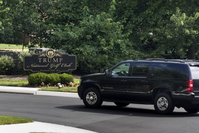 Trump Has Spent 150 Days–25 percent–of His Presidency at a Trump Golf Club