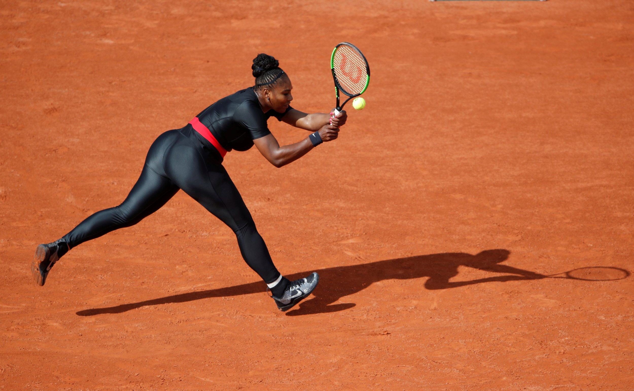 Serena Williams  Black Panther Inspired Bodysuit Has Sparked a Controversy  in Tennis 72788748c