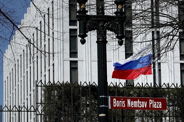 The U.S.-Russia relationship is now as bad as the Cold War, Russia's embassy says