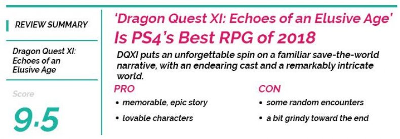 Dragon Quest XI- Echoes of an Elusive Age Player