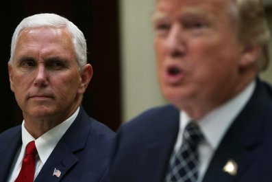 Mike Pence, Donald Trump, president