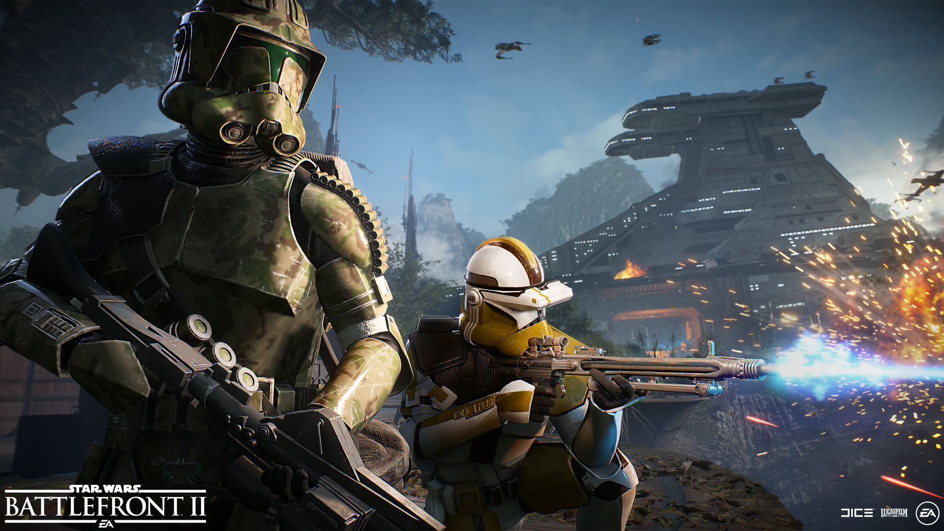 Star Wars Battlefront 2' Update 1 18 Adds Elite Corps Skins - Patch