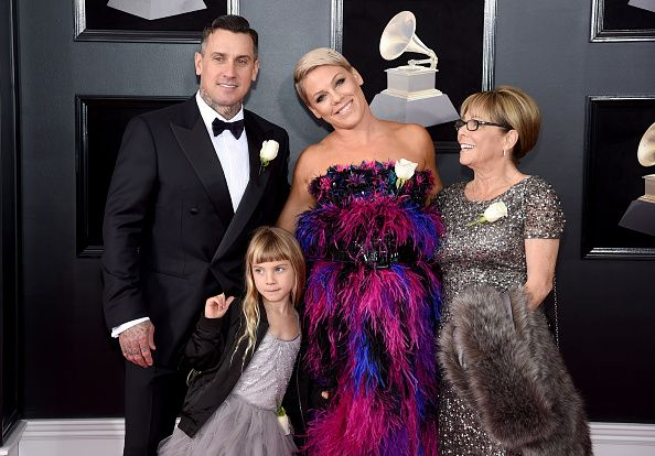 Pink's Husband Carey Hart Faces Backlash After Posting Photo of Son Covered in Rash