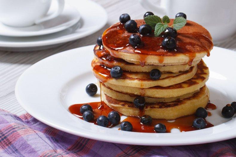 pancakes-breakfast-blueberries-stock