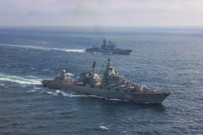 RussiaNavyMarshalUstinovSeveromorsk