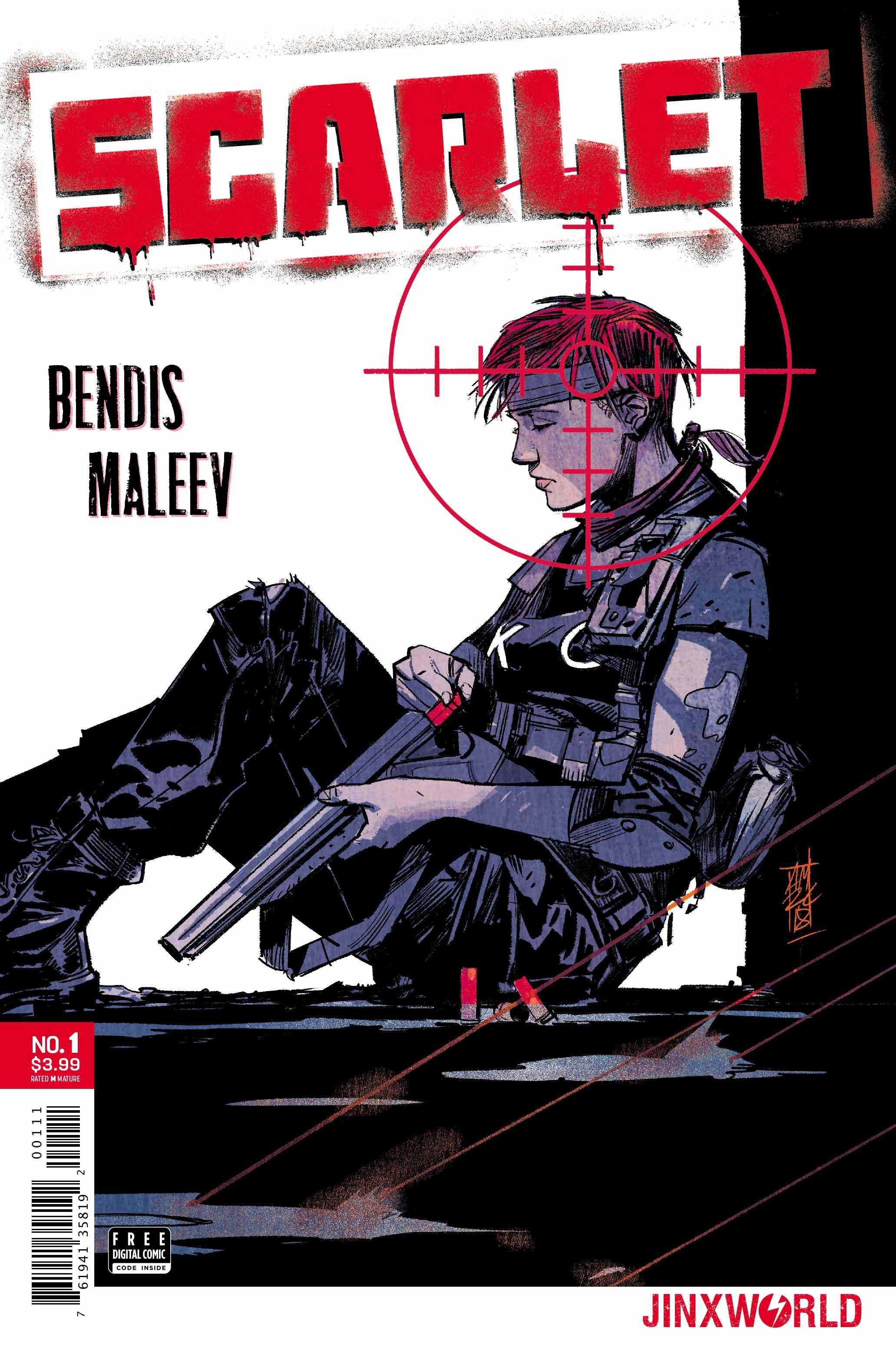 scarlet #1 cover