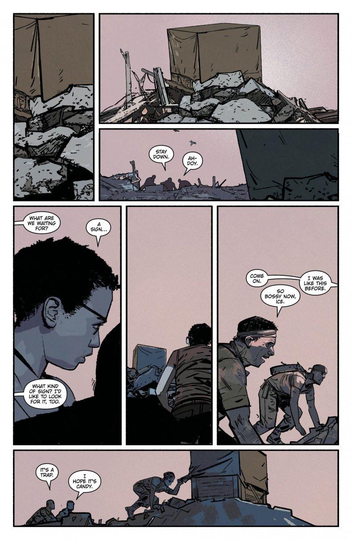 scarlet preview dc comics