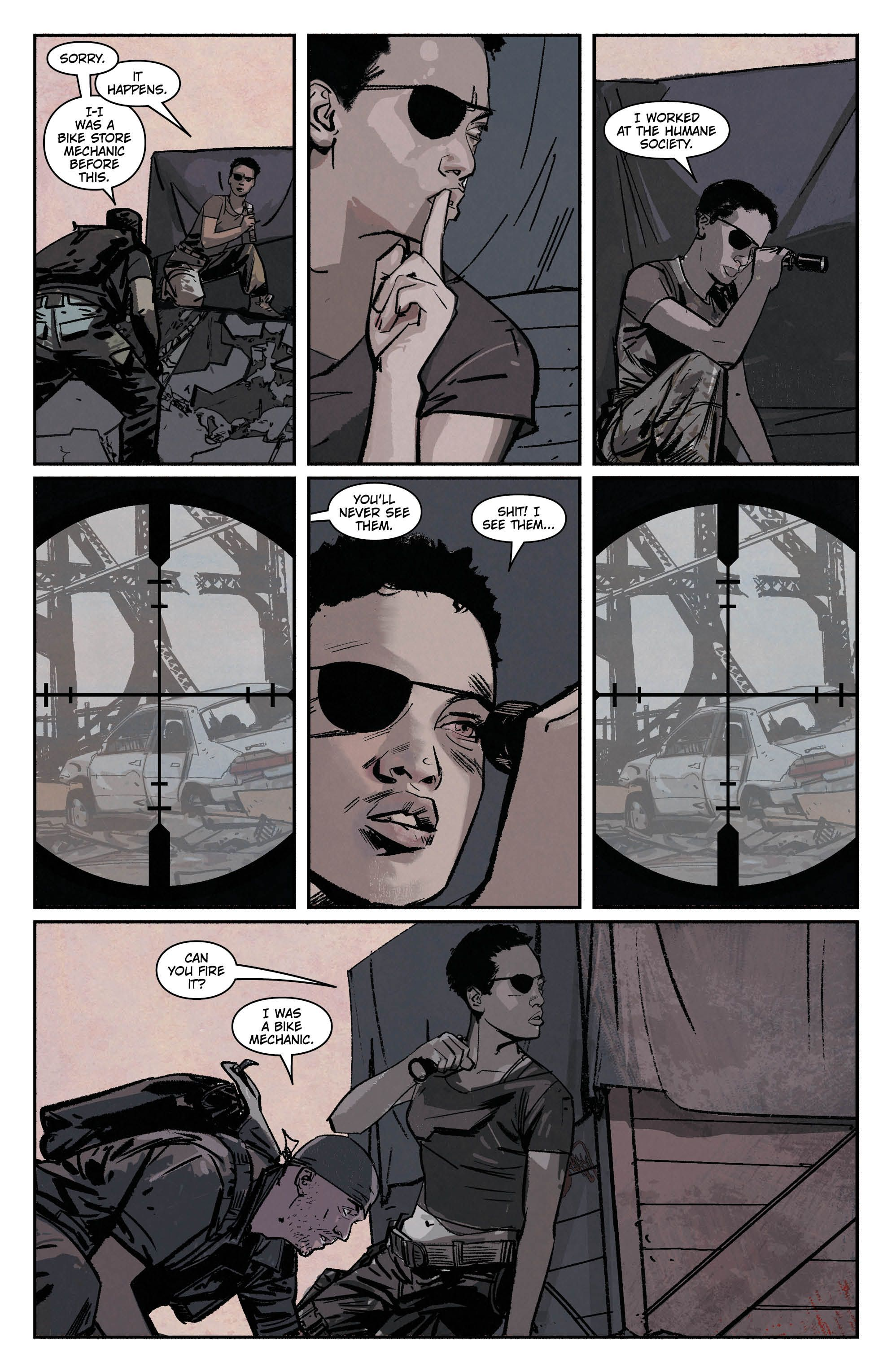 scarlet #1 page 3 preview