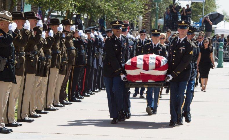 McCain memorial services Arizona