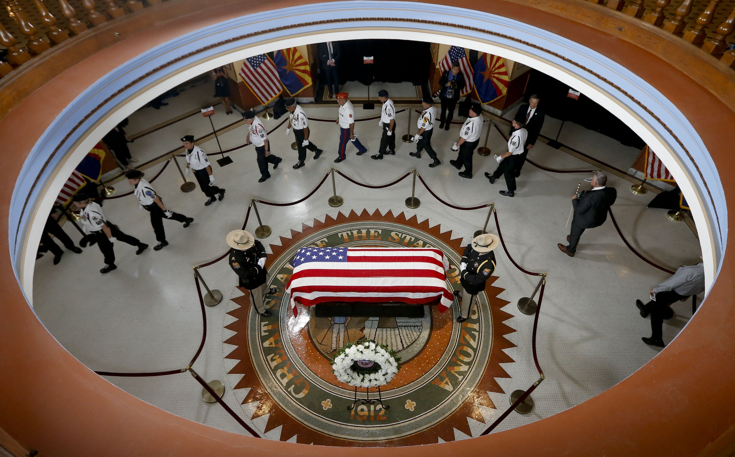 John McCain funeral, memorial service, phoenix