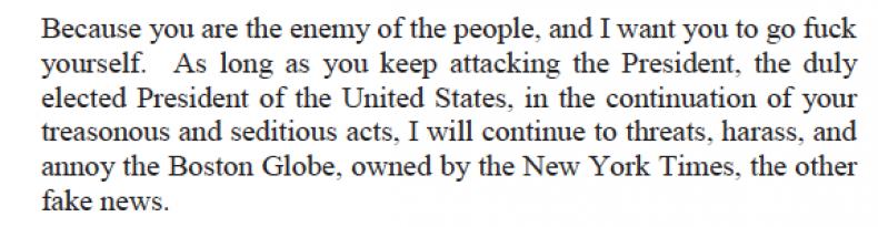 Robert Chain threat