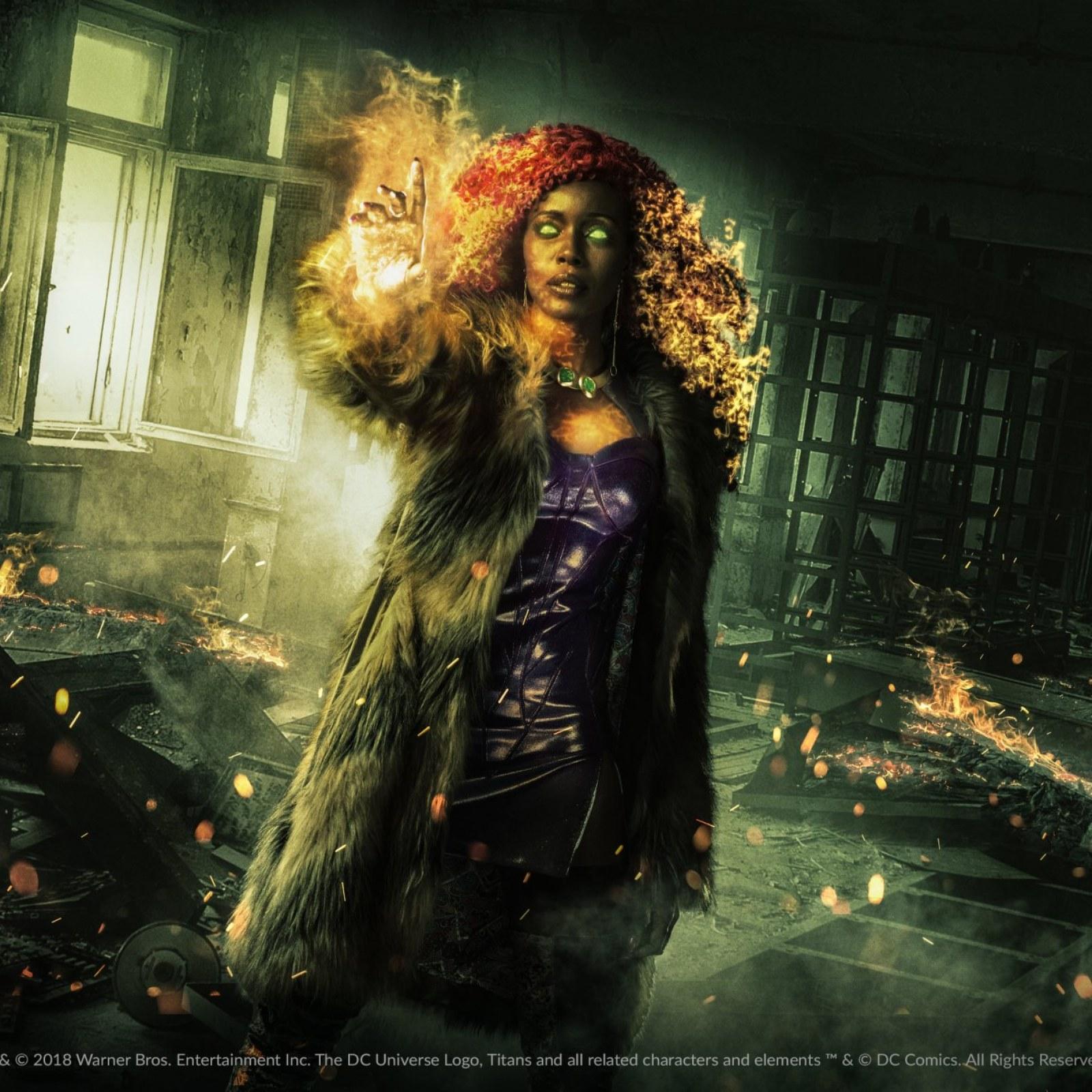 Exclusive: Starfire's 'Titans' Teaser Ignites Origin Mystery