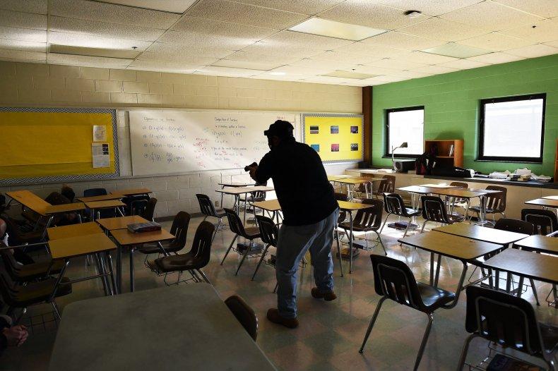 massachusetts school blue emergency bucket