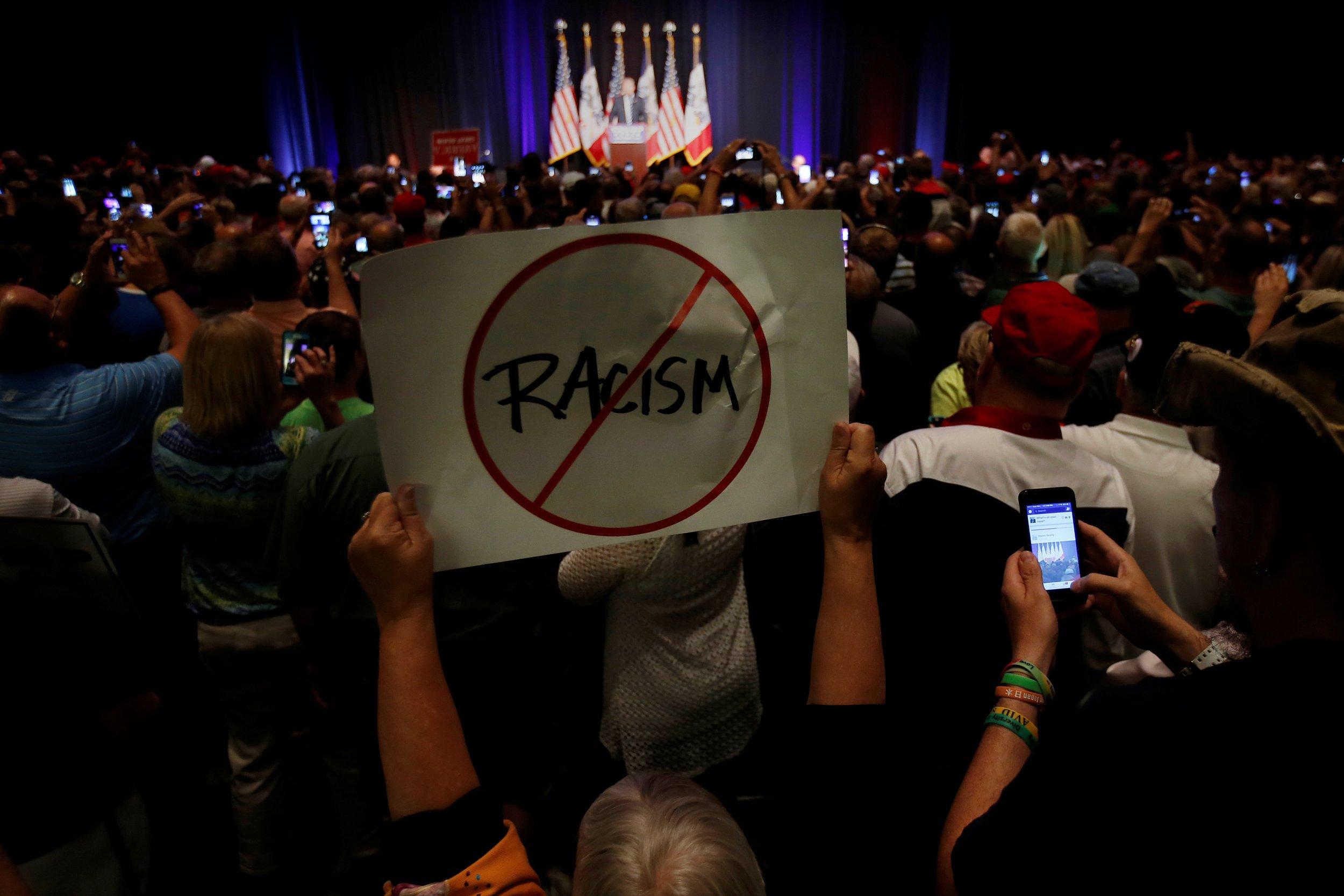 Donald Trump poll N-word racist