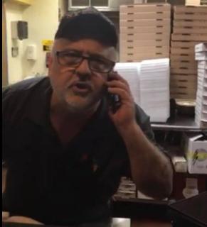 Tamika Sanders Carlos Pinto of Carmine s Pizzeria 7615