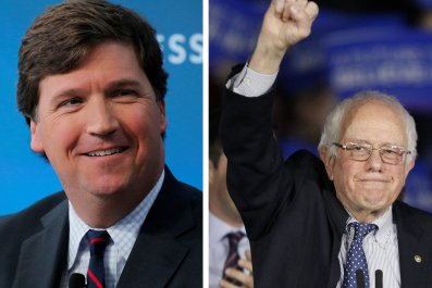 Tucker Carlson Bernie Sanders