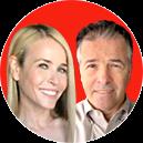 Chelsea Handler and Glen Handler