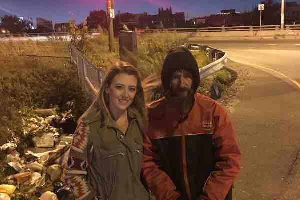 Homeless, man, go, fund, me, money, gone, John, Bobbitt, Kate, Mclure, mark, diamico