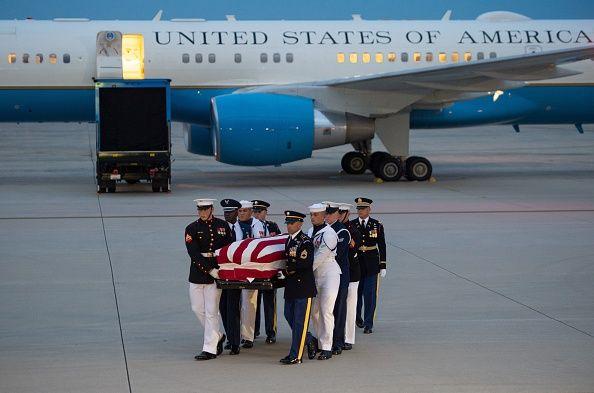 John McCain funeral service, U.S. Capitol, memorial