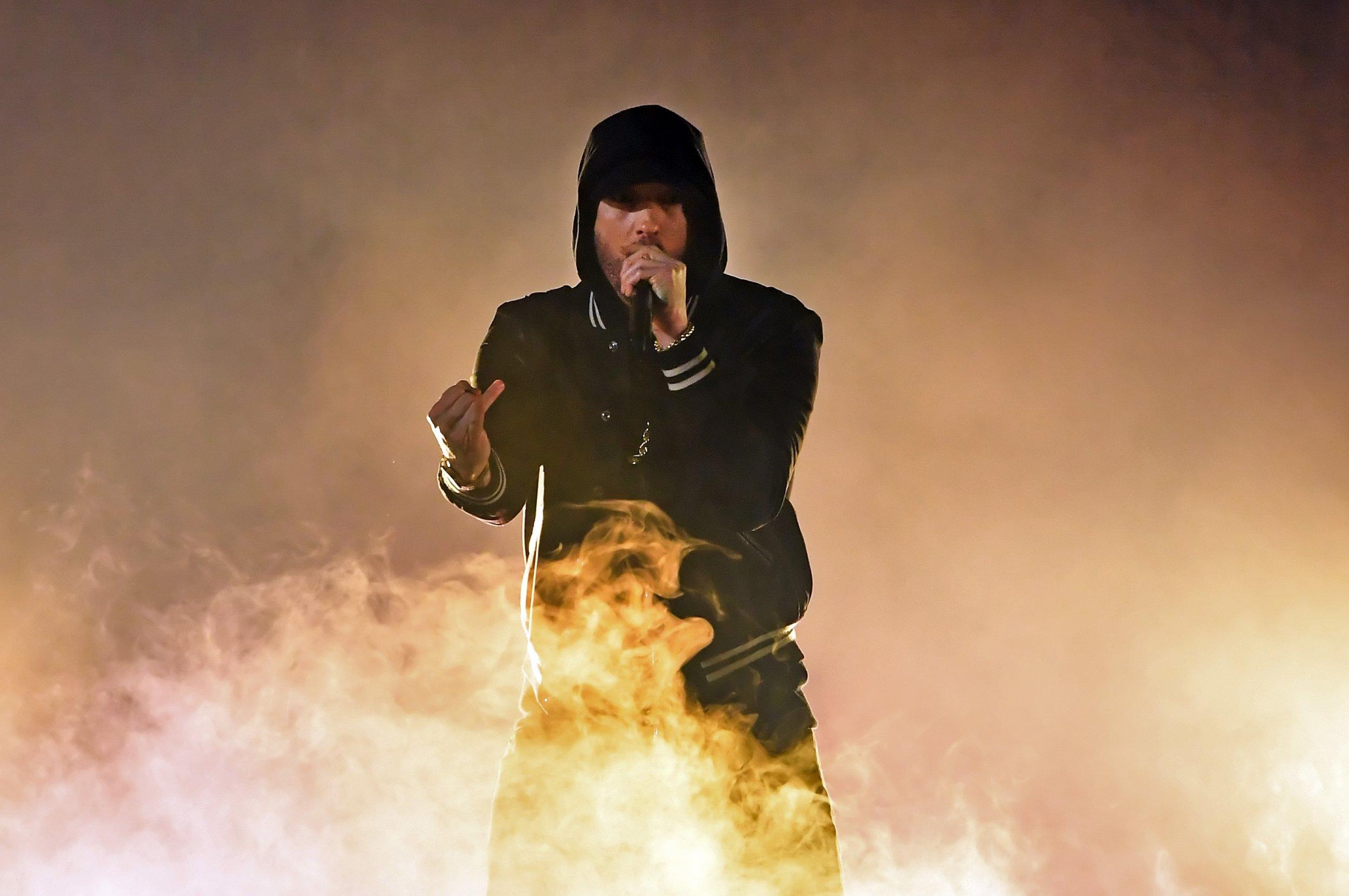 Eminem Mentions Rapper Hopsin on 'Kamikaze' Album