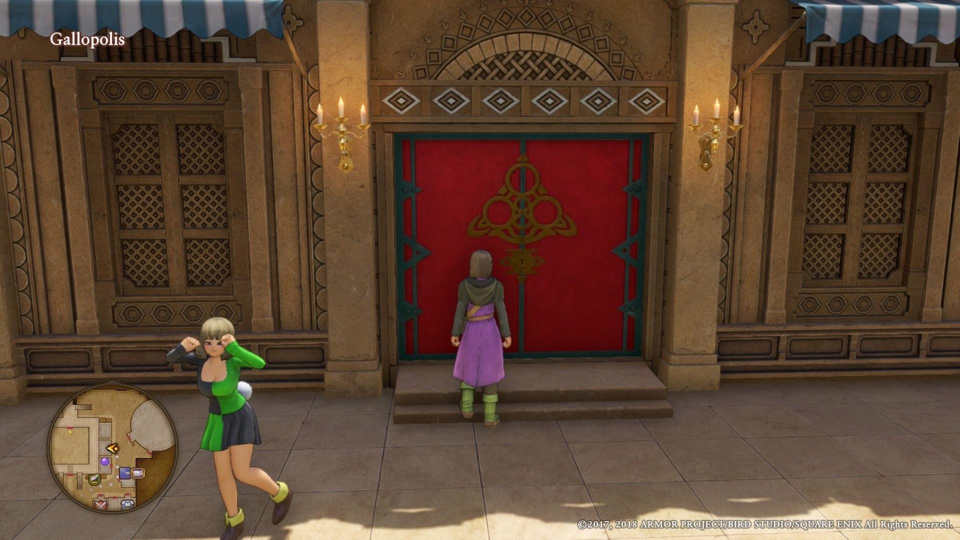 Dragon Quest XI': How to Open Red Doors and Metal Doors