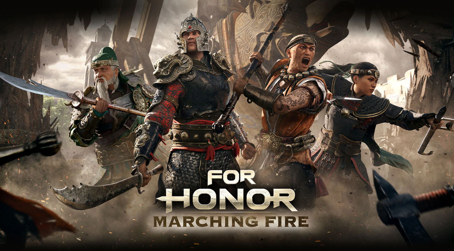marching fire for honor