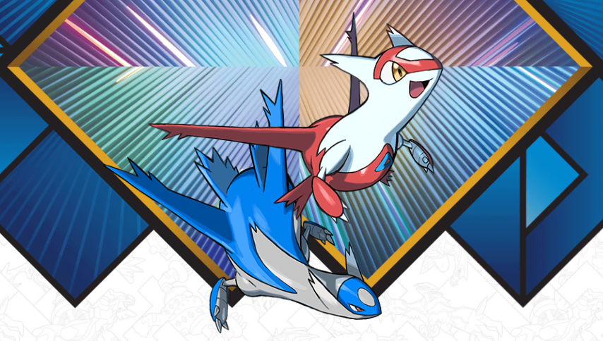 Pokémon Ultra Sun and Moon' Latios and Latias Distribution