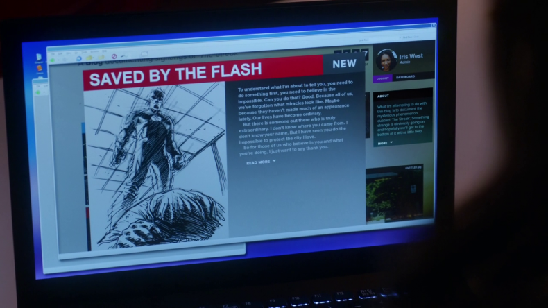 streak lives saved by the flash central city citizen