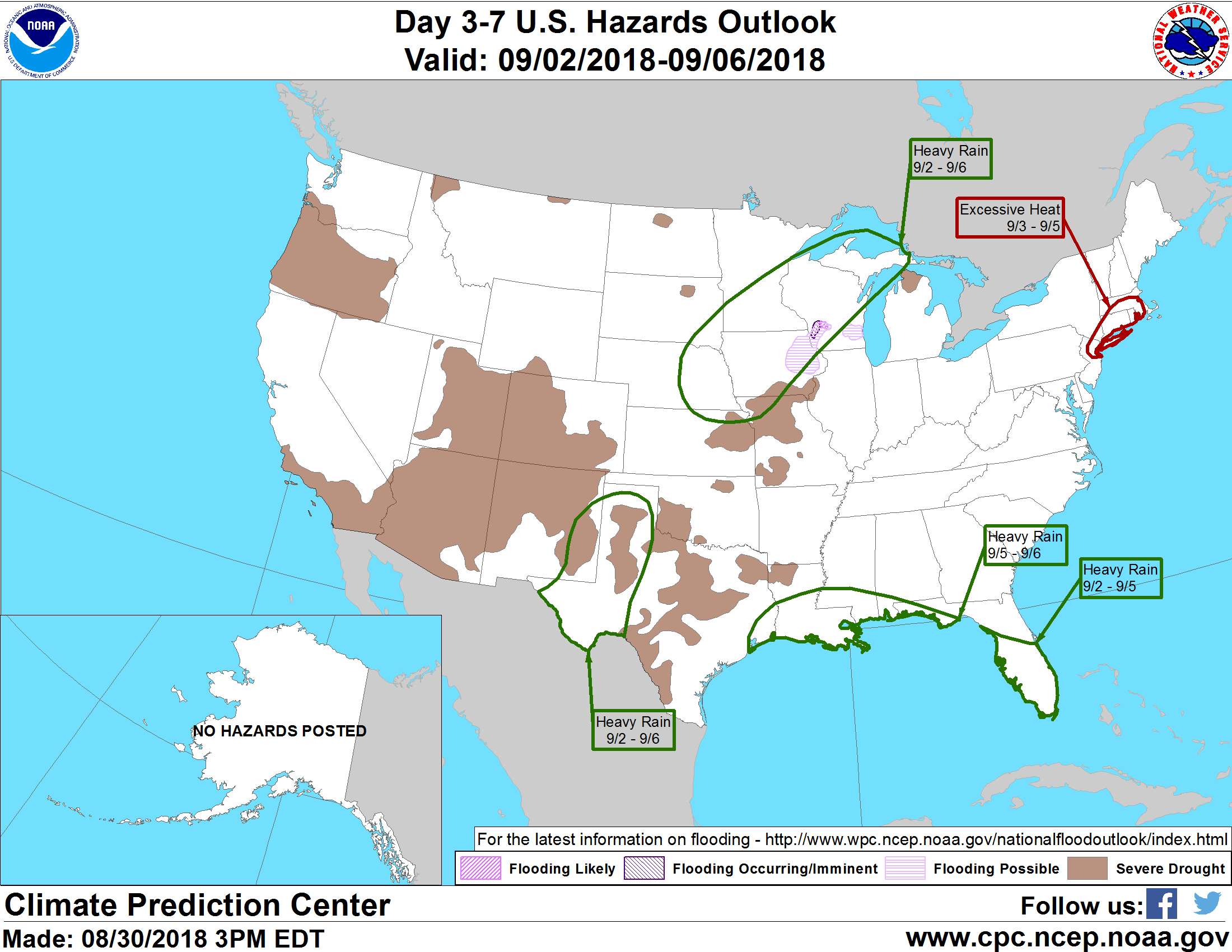 Labor Day Weekend Weather Outlook: Should You Expect Rain or