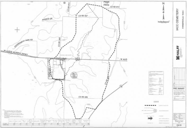 IACC Cemetary blueprints