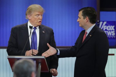Donald Trump, Ted Cruz, Beto O'Rourke